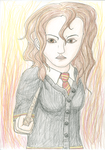 Hermione - for LadyShanana by xAllion