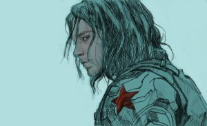 winter soldier by Fleret