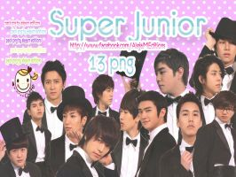 PACK Super Junior PNG  by Aleja Editions by DDLoveEditions