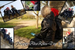 Happy AkuRoku-Day '10 by JessieSilver