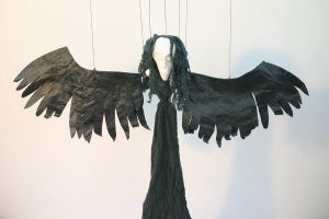Angel of Death puppet by impsandthings