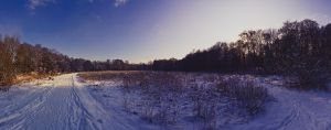 Winter panorama 5 by Dullface