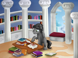 Cloudy's down time by Lydia-Rawr