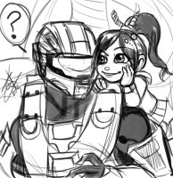 Hey You, robot! -sketch- by WinterSpectrum