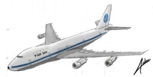 Pan Am 747 by audoman2607