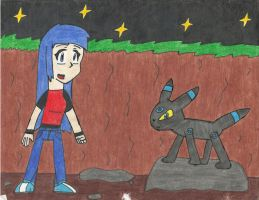 Mary and Blue 2 by ShadowFire90