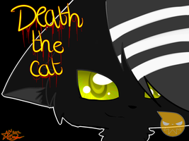 Death the cat by P00NIS-IS-LOVE