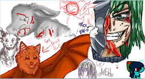 Iscribble- by Ravenstar01