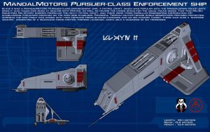 MandalMotors Pursuer-class Slave II ortho [New] by unusualsuspex