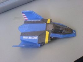 blue falcon f-zero by Prife7