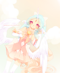 . Angelcakes + Speedpaint! . by Zombutts