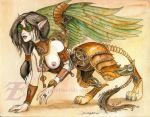 Steampunk Sphinx by felixxkatt