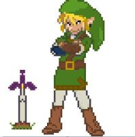 Link In Pokemon by maxinethebean