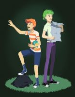 Phineas and Ferb by aocom