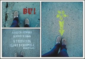 pavement art by gabbyella