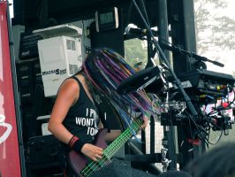 Cherri Bomb - Warped 2012 by Chickenese