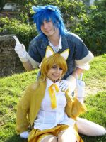 Sonic 2 - cosplay! Sonic and Tails by Rush88