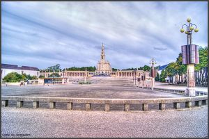 Fatima - Main Church and Shrine I by Arte-de-Junqueiro