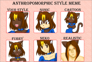 Anthropomorphic Style meme by Misical
