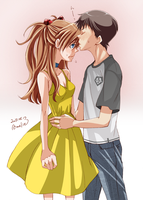 Where can I kiss? by sabo-p