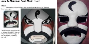 How to Make Lan Fan's Mask (Part 3) by Angel-of-Alchemy-42