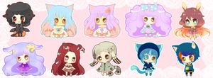 Mini Cheeb Batch 1 by PuffyPrincess