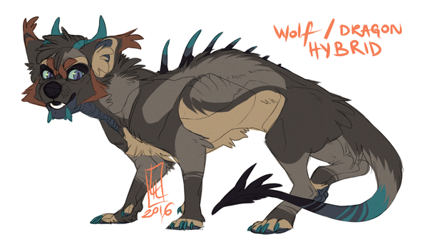 Wolf Hybrid AUCTION CLOSED! by LiLaiRa