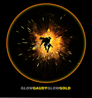 Glow Gaudy Glow Gold by Cosmicmoonshine