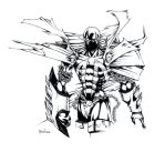 spawn rough sketch by irving-zero