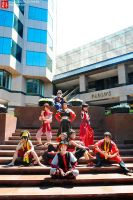 Fire Nation Troup by KoiCosplay