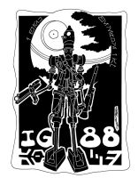 21. IG-88 by JoJo-Seames
