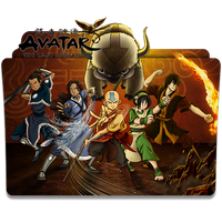 Avatar The Last Airbender - Icon Folder by ubagutobr