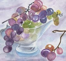 Grapes -Detail- by LinaElShamy