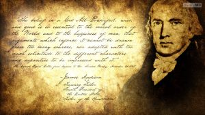 Separation Of Church And State: James Madison by SympleArts