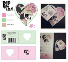 Pulp Kitten Tag by quotidia