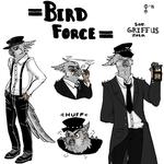 Bird Force: Sgt. Griffus Zola by CrowG0d