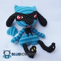 Riolu patchwork plush by BlueRobotto