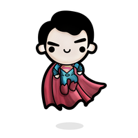 Little Man of Steel by SquidPig