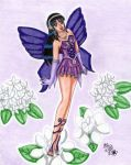 Purple Fairy by Lily-de-Wakabayashi