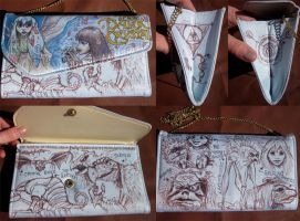 Doodle Bag The Dark Crystal by whyamitheconvict