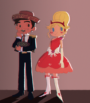 star and marco by X3carlyX3