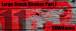 Large Paint Strokes Brushes by sdwhaven