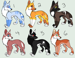 Canine Point Adopts -CLOSED- by PoodleFradoodle