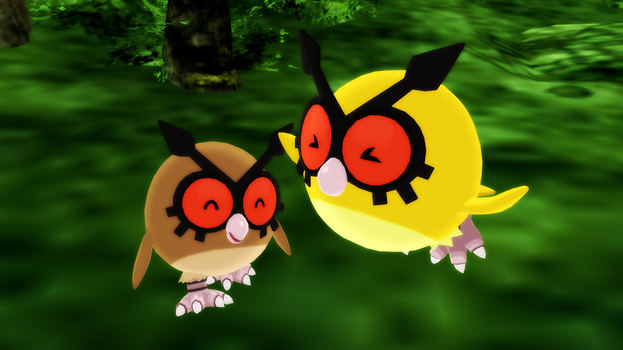 MMD PK HootHoot DL by 2234083174