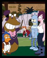 Futurama poster by silverspoon102