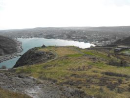 St. John's view from Signal Hill by Lady-Lilith0666