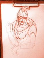 Garrus WIP by chisah