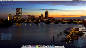 My iMac desktop by bostonguy3737