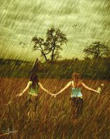 So Happy Together in the Rain by ustar2