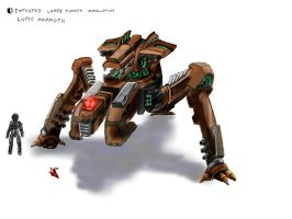 Dust 514 - Lupis Mammoth by novafox